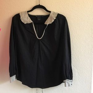 Marc by Marc Jacobs black long sleeve shirt